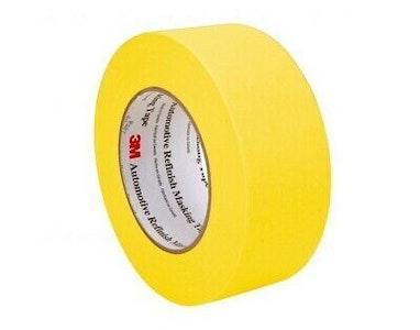 3M Automotive Refinish Tape Yellow 48mm x 55M, 6656