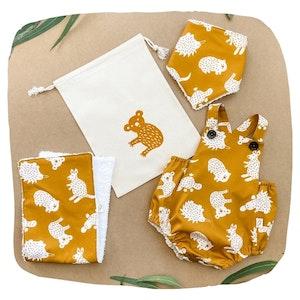 Romper Baby Bundle - Mustard Little Aussie