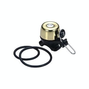 BBB Bell Noisey Brass Gold W/Silver Rivet