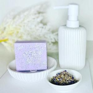 Soul Aware Botanics Lavender Sparkle Goats Milk Soap 2021