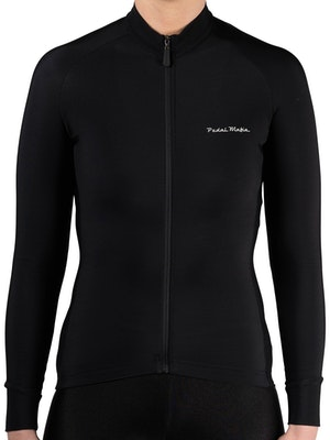 Pedal Mafia Women's Thermal Jacket S20 - Black White