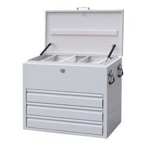 SP40330 Truck Box 3 Drawer Industrial Duty Steel WHITE SP40330