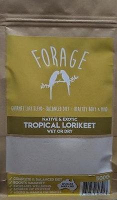 Forage GOURMET LORI BLEND WET OR DRY 500g