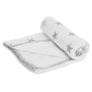 aden dusty - stars classic stroller blanket
