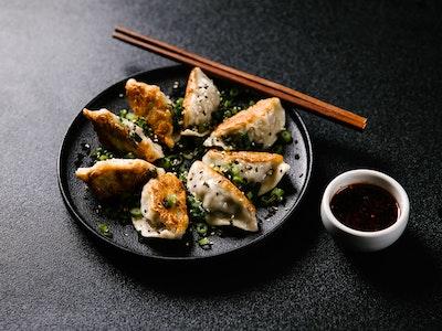 Pan-fried Beef Dumplings 8 pc