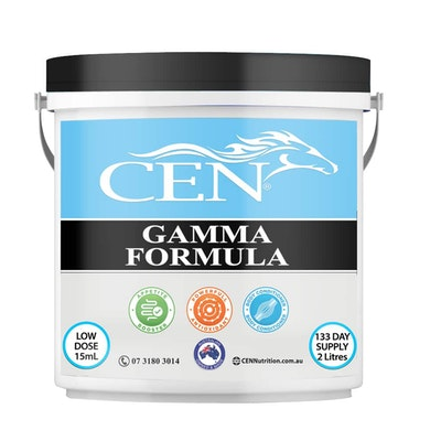 CEN Gamma Formula Muscle Topline & Appetite Supplement for Horses - 2 Sizes