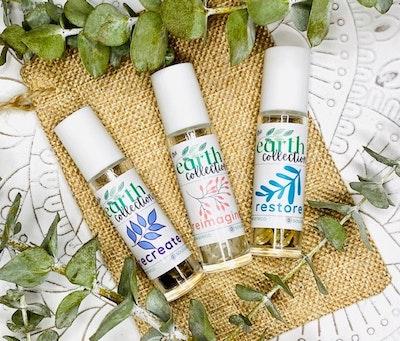 Soul Aware Botanics Earth Collection Aromatherapy Blends - Reimagine, Recreate + Restore. *SET OF THREE* 2021