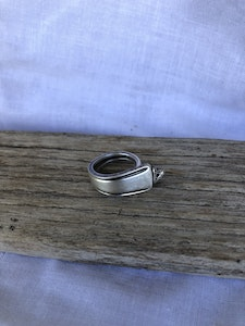 """Silver """"Soph"""" Ring (Size M)"""