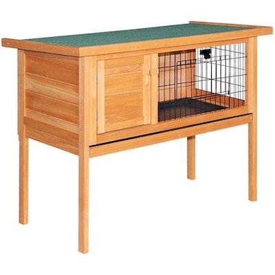 Deluxe Wooden Premium Rabbit/Guinea Pig Cage/Hutch- 70cm