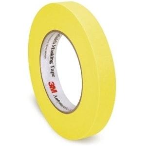 3M Automotive Refinish Tape Yellow 18mm x 55M, 6652