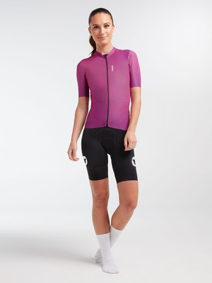 Black Sheep Cycling Women's WMN LuxLite Jersey - Magenta Wave