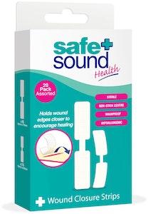 Safe + Sound Wound Closure Strips 20 Pack