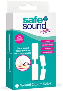 Safe + Sound Wound Closure Strips 20 Pack