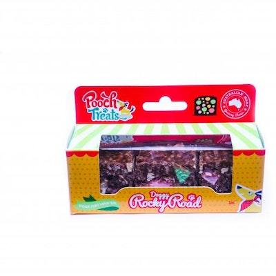 Xmas Pooch Treats Doggy Rocky Road Dog Treats 3 Pack