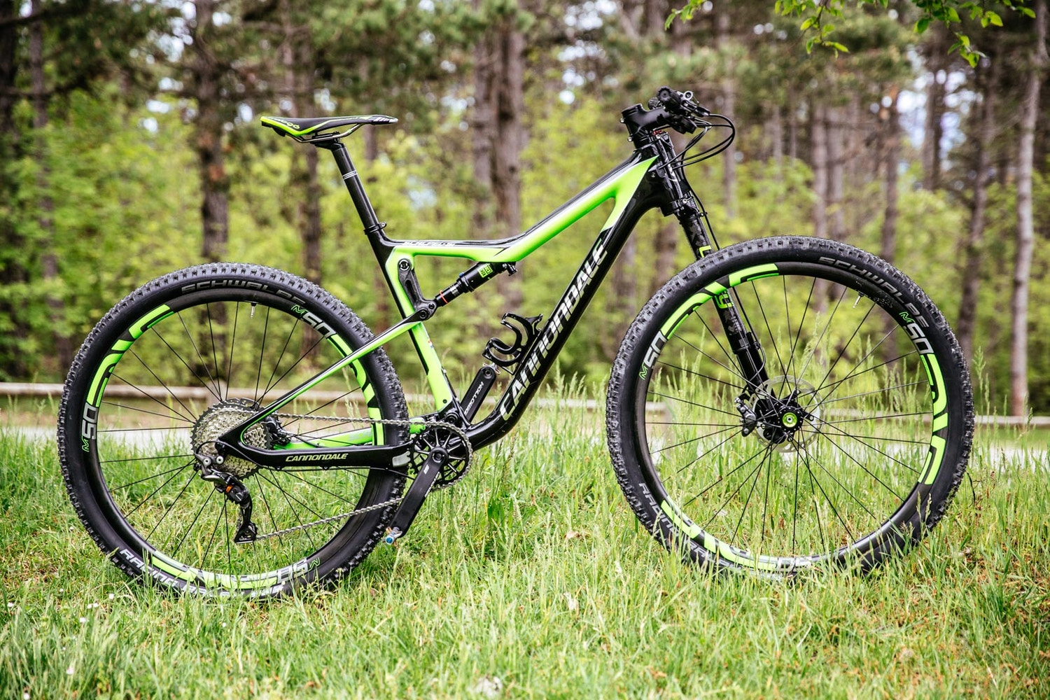 First Ride mit dem Cannondale Scalpel 2017