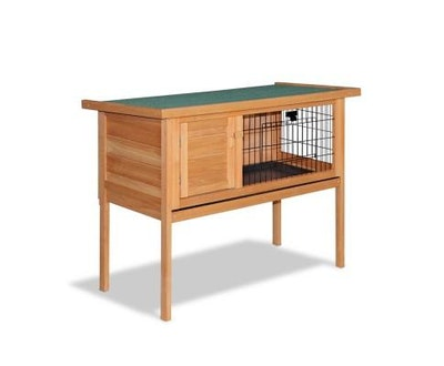 House of Pets Delight Tall Wooden Pet Coop with Slide out Tray