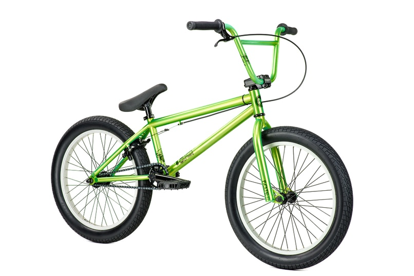 Kink Curb Green 2015, Freestyle BMXs