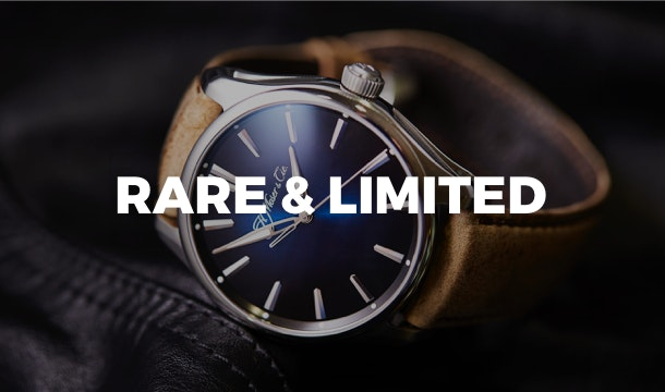 Rare & Limited watches