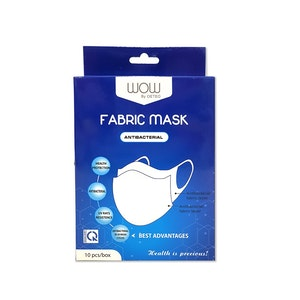 OETEO Australia WOW by OETEO Anti-Bacterial Fabric Masks (10pcs/box)