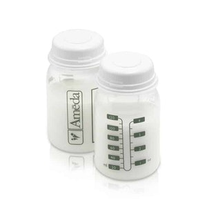 Midmed Ameda Breast Milk Storage Bottles (4 pk)