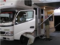 Escapepodz motorhome for two. Hamilton RV show