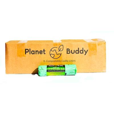 Planet Buddy 7L Bin Liners - 50 Rolls of 25 Liners
