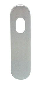 dormakaba wide style outer round end cylinder hole plain plate concealed fixing in SCP finish