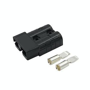 50 amp Anderson Plug Black (Single) inc Terminals