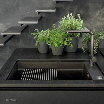 Keukentrend: zwart zet de toon