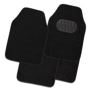 Mercury 4-Piece Car Mat - Black [Carpet]