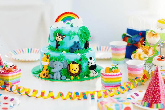 safari-kindergeburtstag-kuchen