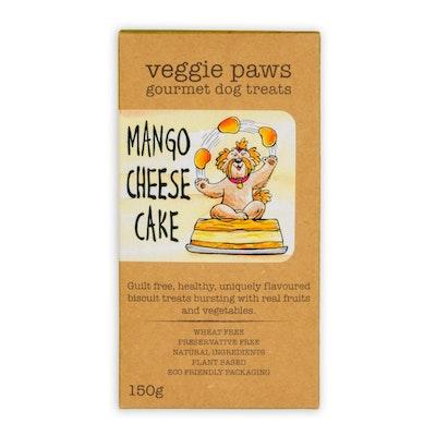 Veggie Paws Mango Cheesecake 150G