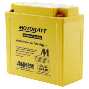 MB5.5U MotoBatt Quadflex 12V Battery