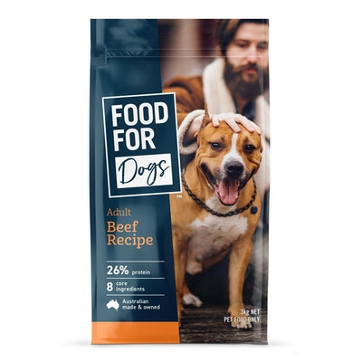 Food For Dogs Adult Beef Recipe Dry Dog Food