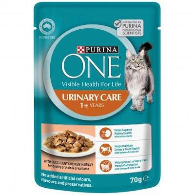 PURINA ONE Urinary Chicken Wet Cat Food 70G
