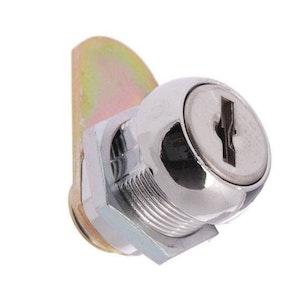 Lock Focus 16mm round face cam lock keyed to 003 fire brigade key.