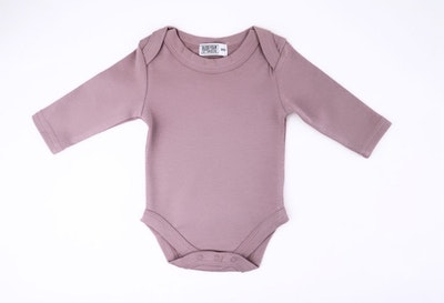 Mauve Onesie - Long Sleeve