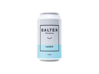 Balter Lager Can 375mL