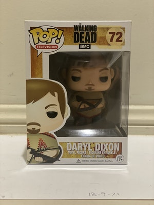 Daryl Dixon #72 The Walking Dead Pop Vinyl