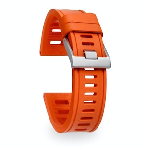 Isofrane Dive Watch Rubber Strap Orange