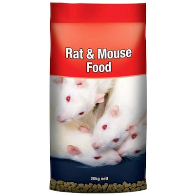 Laucke Mills Laucke Rat & Mouse Protein & Energy Square Nut Food 20kg