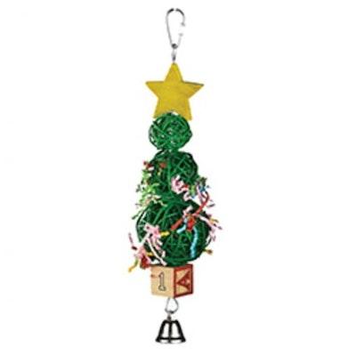 Kazoo Vine Ball Christmas Tree Bird Toy