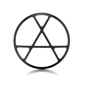 "7"" Metal Anarchy Design Grill"