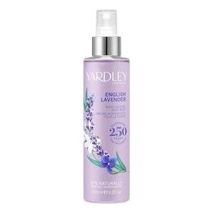 Yardley London English Lavender 200ml Deodorising Body Mist Spray