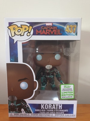 """captain Marvel """"torath"""" 2019 spring convention LIMITED EDITION exclusive (with pop protector)"""