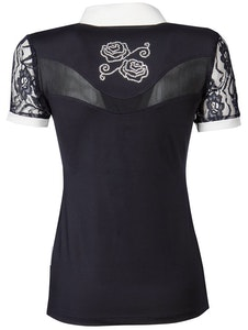 Harry's Horse Show Shirt Lace - Whit/Navy/Black