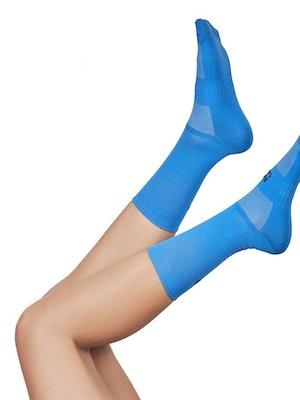 "Taba Fashion Sportswear Media Ciclismo Clasica Azul Hortensia 7"""