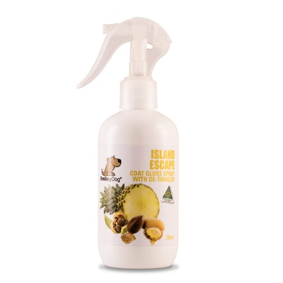Smiley Dog Island Escape - Coat Gloss Spray with Detangler