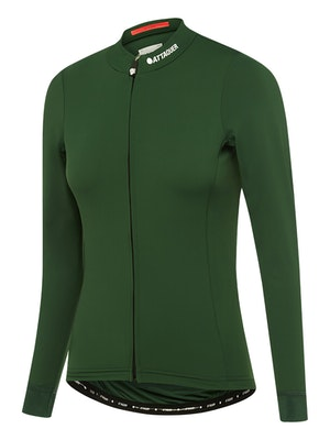 Attaquer Womens A-Line Winter LS Jersey 2.0 Olive
