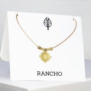 Mini medallion Necklace